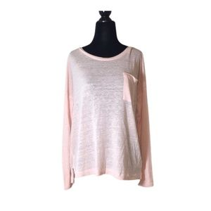 Old Navy Pink Long Sleeve Top